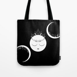 The Crystal Goddess Dark Tote Bag