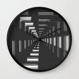 Infinity in Chrome Wall Clock