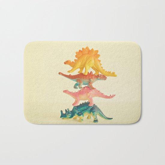 Dinosaur Antics Bath Mat