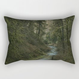 Oregon Forest V Rectangular Pillow