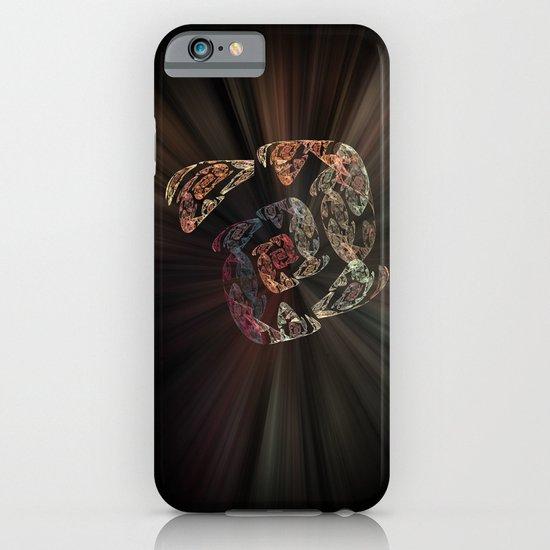 Golden Spiral iPhone & iPod Case