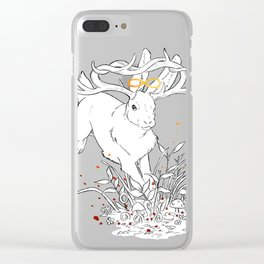 Infinity Rabbit Clear iPhone Case