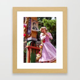 MAGIC KINGDOM: (Rapunzel) Festival of Fantasy Parade Framed Art Print