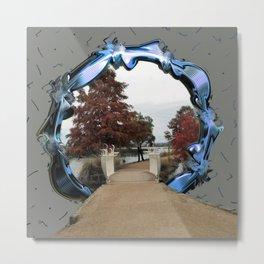 Lake Wendouree Framed Metal Print