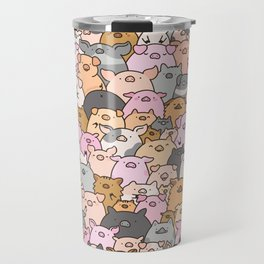 Pigs, Piglets & A Swine! Travel Mug