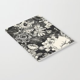 SKULLS HALLOWEEN SKULL Notebook