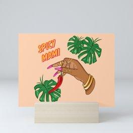 Spicy Mami Mini Art Print