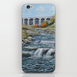 The Nine Arches, Tredegar iPhone Skin