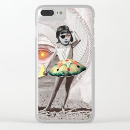 _EYE PROTECTION Clear iPhone Case