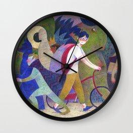 My First Halloween Wall Clock