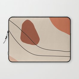 Neutral Beiges, Browns, Oranges, Black, art, interior, matisse, picasso, drawing, decor, design, bau Laptop Sleeve