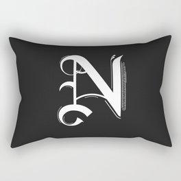 Letter N Rectangular Pillow
