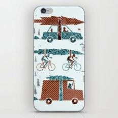 Tree Transportation iPhone & iPod Skin