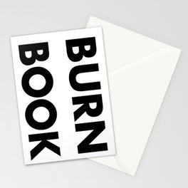 BURN BOOK Stationery Cards