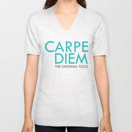 Carpe Diem Unisex V-Neck