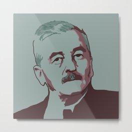 William Faulkner Metal Print