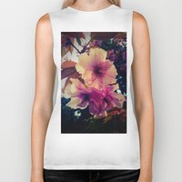 blossom Biker Tanks featuring Blossom by Monica Georg-Buller