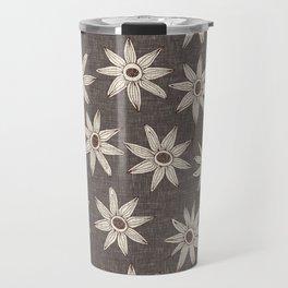 sema granite brown Travel Mug