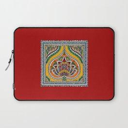 Lotus on Paan Laptop Sleeve
