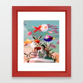 In this Dream Framed Art Print