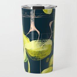 Lemon and lime Travel Mug
