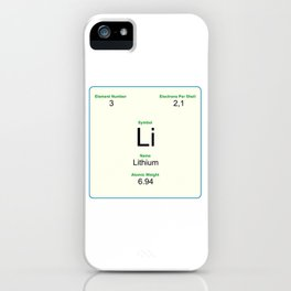 3 Lithium iPhone Case