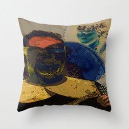 Siberians Throw Pillow