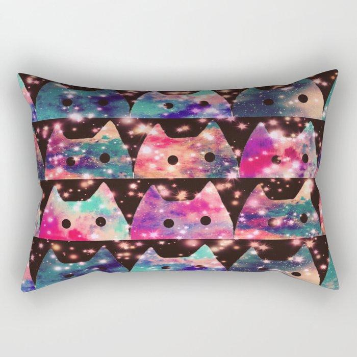 gorgeous cats-134 Rectangular Pillow