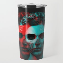 Skull Girl Travel Mug