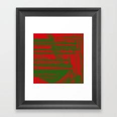 FF0000 Framed Art Print