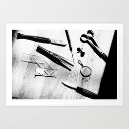 exploring life Art Print