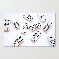 Dominoes Pattern #5 Canvas Print