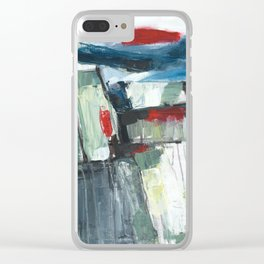 Land of light Clear iPhone Case