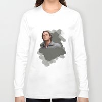 sam winchester Long Sleeve T-shirts featuring Sam Winchester - Supernatural by KanaHyde