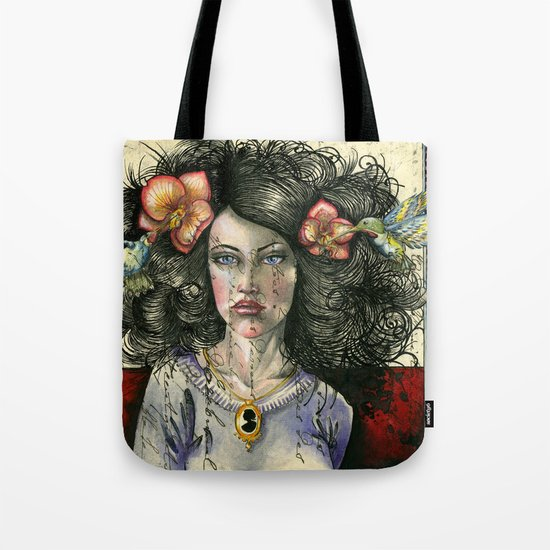 She Had Hummingbirds in Her Hair Tote Bag