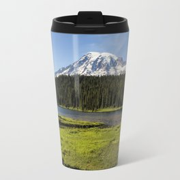 Mt Rainier from Reflection Lake, No. 1 Travel Mug