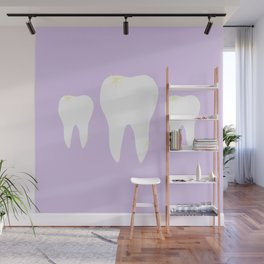 Les Dents Wall Mural