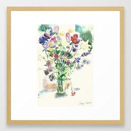 Flowers Цветы Fiori פרחים Framed Art Print