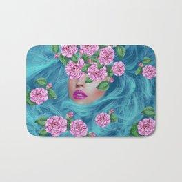 Lady with Camellias Bath Mat