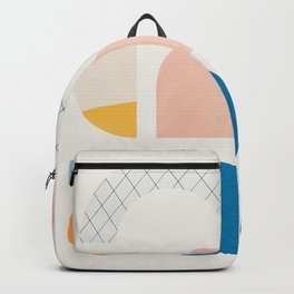 Abstraction_Shapes Backpack
