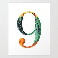 NeueFable 9 Art Print