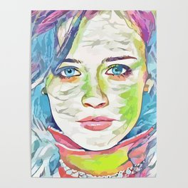 Alexis Bledel (Creative Illustration Art) Poster