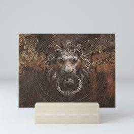 LION Mini Art Print
