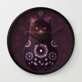 Catryoshka Wall Clock