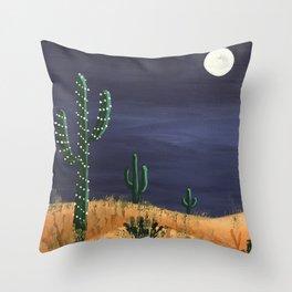 Desert Holiday Throw Pillow