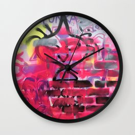 Pinkass Wall Clock