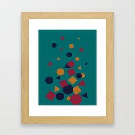 Wonders of Life Trashcan Framed Art Print