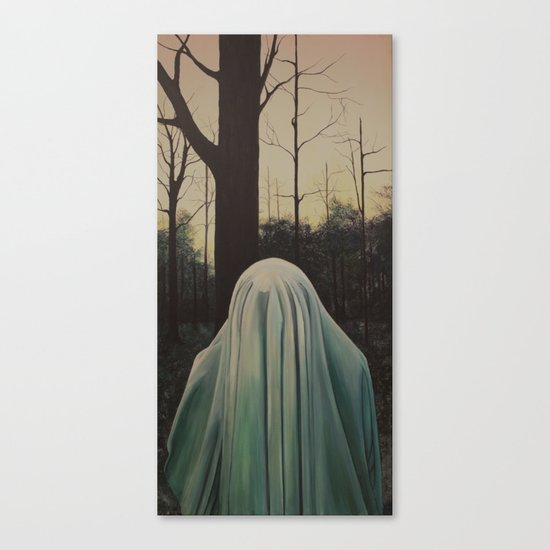 ghost I Canvas Print