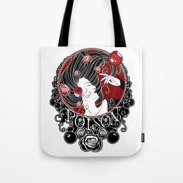 Poison - Black Rose Tote Bag