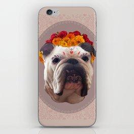 Dooley de los Muertos iPhone Skin